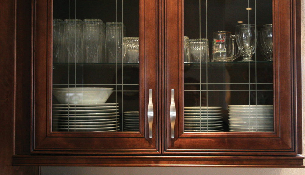Grand jk cabinetry quality all wood cabinetry affordable - Bathroom cabinet with glass doors ...
