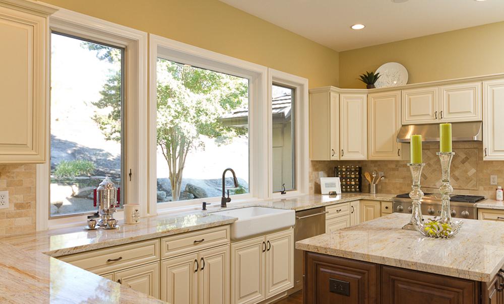 A7sampledoor Crème Maple Glazed Cabinet ...